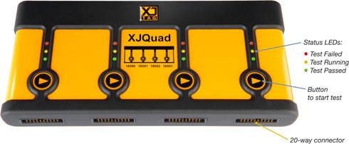 XJQuad Multiport JTAG-Controller