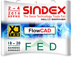 XJTAG and FlowCAD exhibiting at Sindex and FED