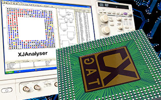 XJTAG BGA testing app for oscilloscopes