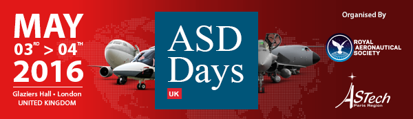 ASD Days UK is one of Europe's major B2B events dedicated to Aerospace and Defence