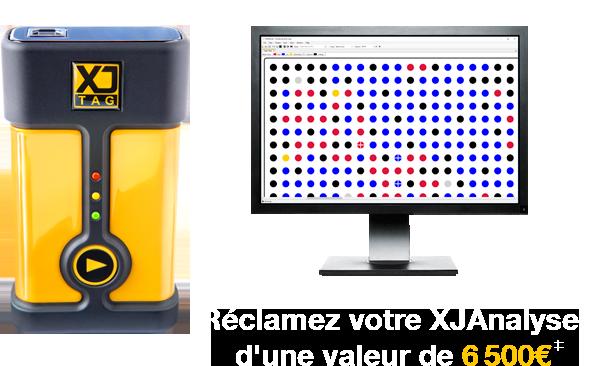Demandez votre XJAnalyser d'une valeur de €6500€