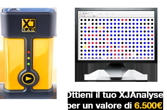 Ottieni il tuo XJAnalyser per un valore di 6.500€