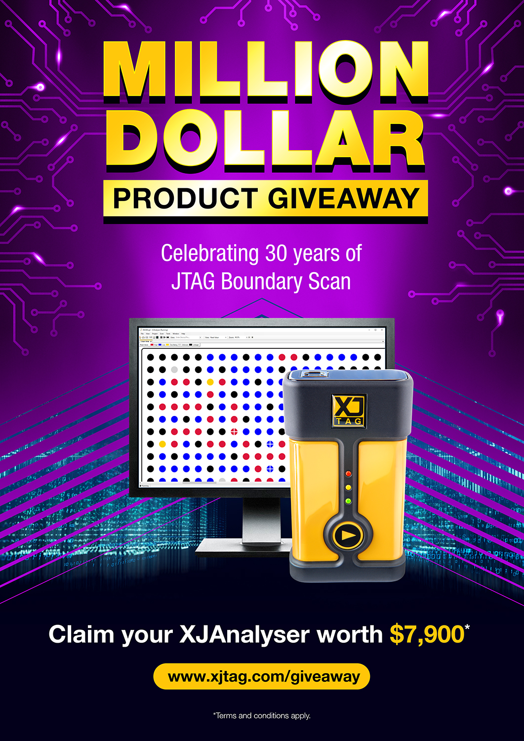 XJTAG Million Dollar Product Giveaway