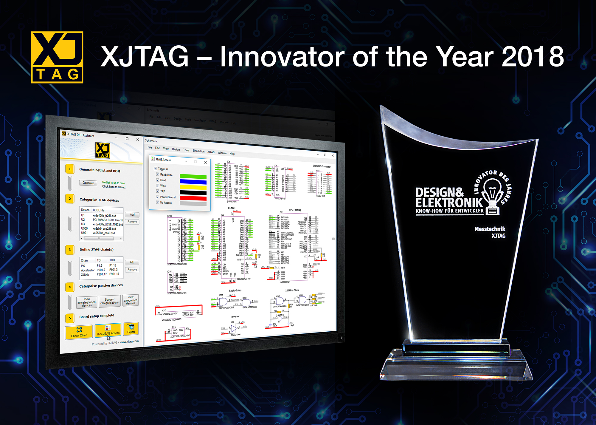 XJTAG Innovator of the Year Award