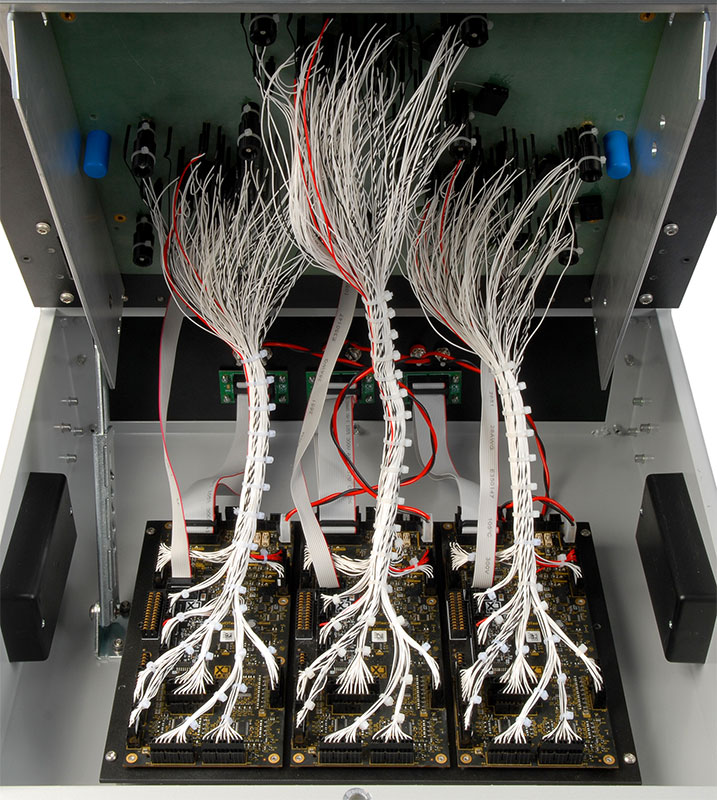 In-circuit tester, bed of nails test fixture