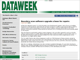 XJTAG in Dataweek's April 2014 issue
