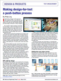 XJTAG News Article in EETimes Europe