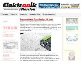 XJTAG Altium article in Elektronik i Norden