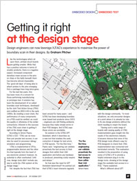 Article in New Electronics - XJTAG DFT Assistant