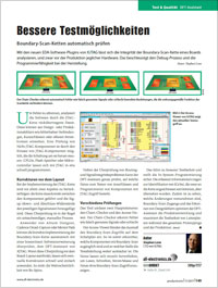 XJTAG Article in Productronic