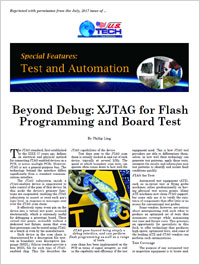 XJTAG News Article in US Tech July 2017