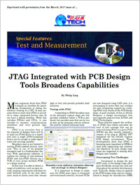 XJTAG News Article in US Tech March 2017