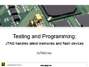 Presentation on Memory Testing with JTAG