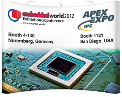 XJTAG at Embedded World and IPC APEX