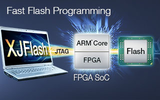 XJFlash high-speed Flash programming for ARM-based FPGA SoC