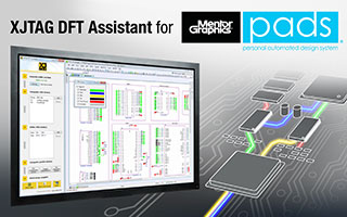 XJTAG DFT Assistant for Mentor Graphics PADS