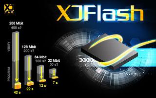 XJFlash ultra-fast flash programming