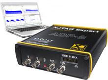 XJTAG Expert JTAG controller oscilloscope