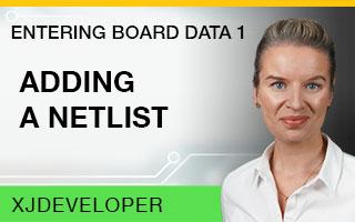 Entering Board Data Tutorial - Adding a netlist