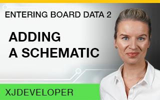 Entering Board Data Tutorial - Adding a schematic