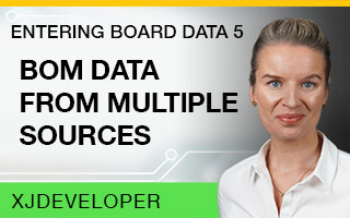 Entering Board Data Tutorial - BOM data from multiple sources