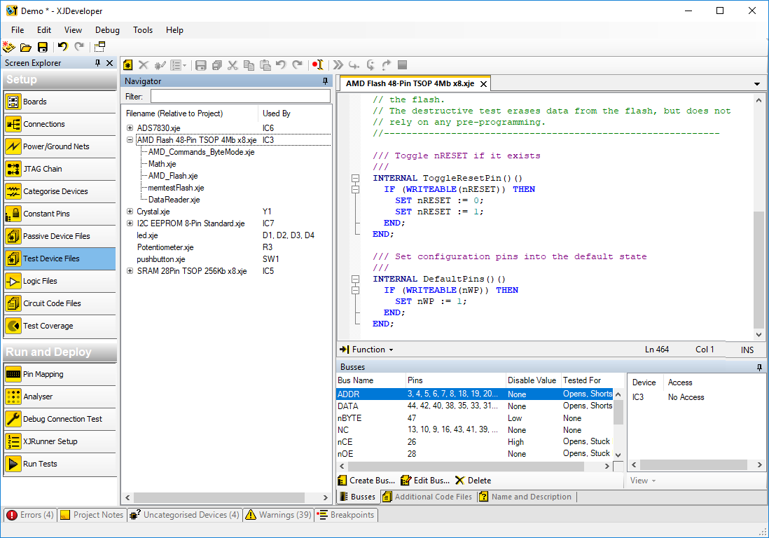 XJDeveloper - Edit code