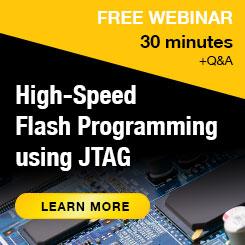 Webinar: High-speed flash memory programming using JTAG