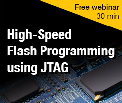 Fast flash programming using JTAG webinar