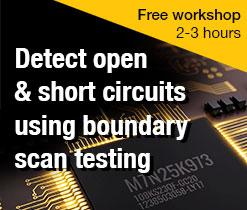 Hands-on JTAG boundary scan testing online workshop