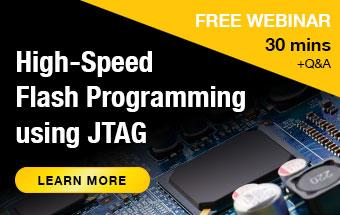 High-speed flash programming webinar banner