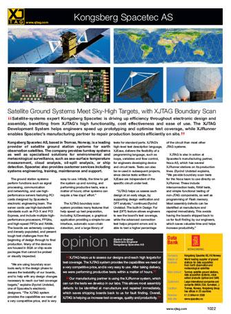 Kongsberg Spacetec case study thumbnail