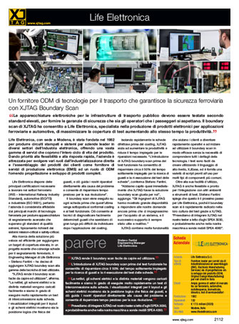 XJTAG Life Elettronica case study