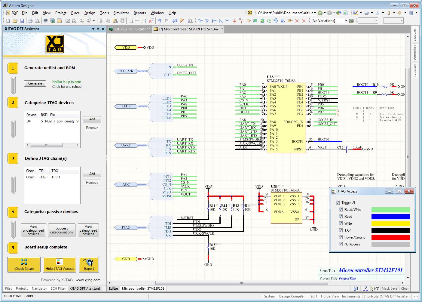 Xjtag dft assistant for altium designer free jtag software extension